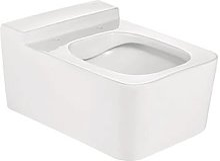 ROCA SQUARE - Taza para inodoro de porcelana