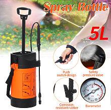 Rociador de presión de jardín de 5L, planta de