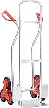 Rogal carrito de mano para escalera 6 ruedas