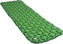 Rogal colchón de aire inflable verde 58x190 cm