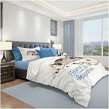 Ropa de cama Dogs - Individual - con sabana