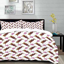 ropa de cama: juego de funda nórdica, cangrejos,