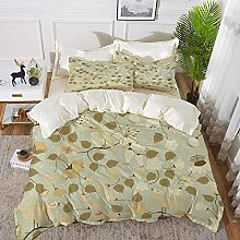 ropa de cama - Juego de funda nórdica, flor,