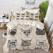 ropa de cama - Juego de funda nórdica, Indie,