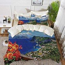 ropa de cama - Juego de funda nórdica, isla,