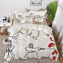 ropa de cama - Juego de funda nórdica, japonés,
