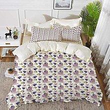 ropa de cama: juego de funda nórdica, medusa,