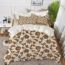 ropa de cama - Juego de funda nórdica, Paisley,