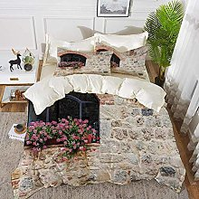 ropa de cama - Juego de funda nórdica, toscano,