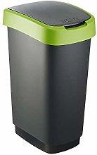 Rotho 1754505519 Twist - Cubo de basura de 50l con