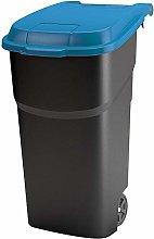 Rotho Atlas, Cubo de basura de 100 litros con tapa