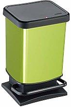 Rotho Paso, Cubo de basura de 20l con pedal y