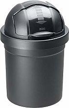 Rotho Roll Bob, cubo de basura redondo de 10