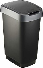Rotho Twist, Cubo de basura de 25 litros con