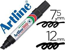 Rotulador marcador permanente 100 negro -punta