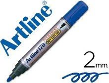 Rotulador marcador permanente 170 azul -punta