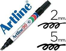 Rotulador marcador permanente ek-90 negro -punta
