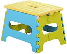RSWLY Taburete plegable de plástico grueso para