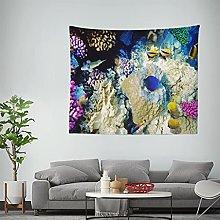 RTNUG tapizTapiz de Peces Coral Egipto Tapiz de