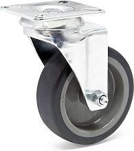 Rueda giratoria sin freno para transporte 75mm