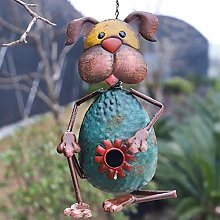 RUIXINLI Casa al Aire Libre de jardín Metal Bird