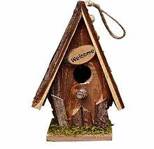 RUIXINLI Casa al Aire Libre de jardín Pájaro al