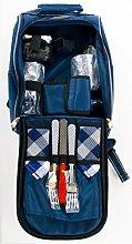 Sadya Design - Mochila de picnic con cubiertos