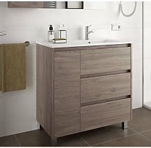 SALGAR 85131 ARENYS 855 Mueble+Lavabo Roble