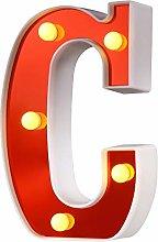 Samapete Luces de letras LED Luces de marquesina