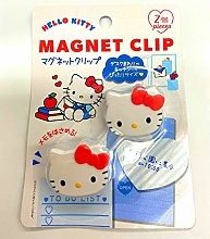 Sanrio - Juego de 2 clips magnéticos (3,3 x 2,8 x