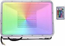 Sararoom 100W Foco Led Exterior RGB, IP67 LED Foco