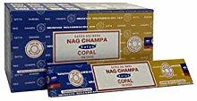 Satya 01309 Nag Champa & Copal Combo Set de