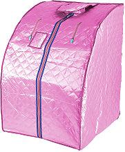 Sauna de infrarrojos, spa personal portátil - Rosa