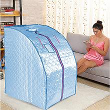 Sauna de Infrarrojos, Spa Portátil Personal - Azul