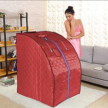 Sauna de Infrarrojos, Spa Portátil Personal - Rojo