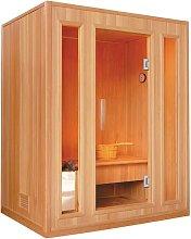 Sauna Tradicional Finlandesa 3 plazas LOFOTEN II -