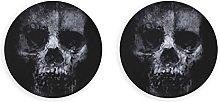 Scary Vintage Horrible Skull Abrebotellas 2 Piezas