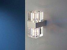 Schuller Cubic - Lámpara de pared de cristal de 2