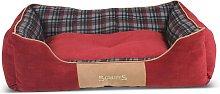Scruffs Cama para mascotas Highland rojo XL