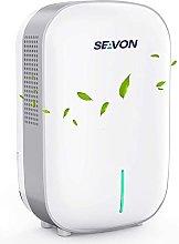 Seavon - Deshumidificador eléctrico pequeño, 800
