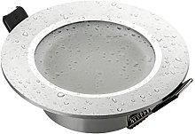 SEBSON Foco empotrable Techo para baño (IP44)