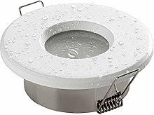 SEBSON Foco empotrable Techo para baño IP65 incl.