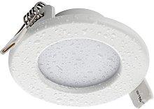 SEBSON® LED Foco empotrable para baño (IP44),
