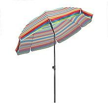 Sekey® Sombrilla Ø 200 cm Parasol para terraza
