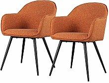 Selsey Silla tapizada, Naranja, 57 x 84,5 x 65
