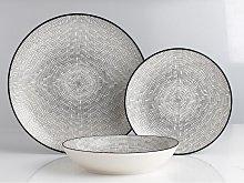 Servicio de vajilla SIA de porcelana fina OSIS -