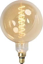 Set 3 bombilla globo filamento LED regulables E27