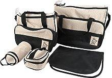 Set 5 kits, Bolsa de Mama Para Bebe Biberon