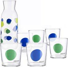 Set Cristalería 7 Piezas: Jarra 108 Cl. Y 6 Vasos
