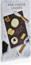 Set Cuchillos Queso +tabla Pizarra - Trends Home